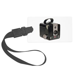 The Brownie Hawkeye Camera Bag Large Size Tag