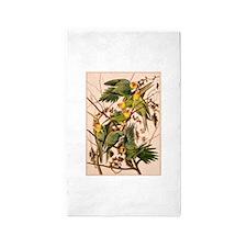 Parakeet Tree 3'x5' Area Rug