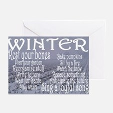 WINTER Greeting Cards (Pk of 10)