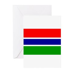 Gambia Greeting Cards (Pk of 10)