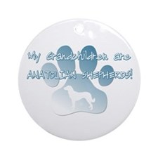 Anatolian Grandchildren Ornament (Round)