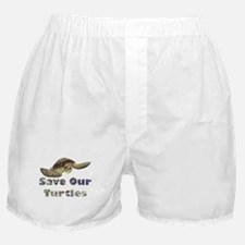 save-our-turtles.png Boxer Shorts