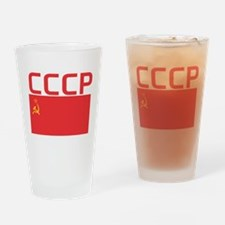 CCCP Flag Drinking Glass