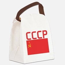 CCCP Flag Canvas Lunch Bag