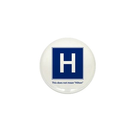 Hilton Mini Button (100 pack)