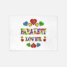 Parakeet Lover 5'x7'Area Rug