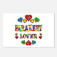 Parakeet Lover Postcards (Package of 8)