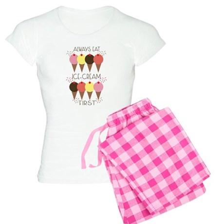 Ice Cream First Women's Light Pajamas