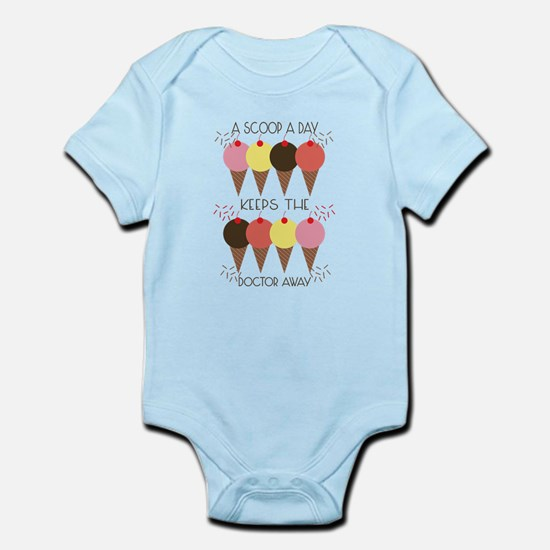 Scoop A Day Infant Bodysuit