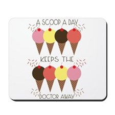 Scoop A Day Mousepad