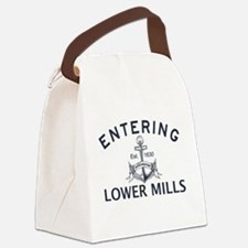 LOWER MILLS Canvas Lunch Bag