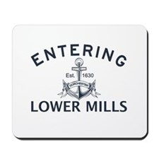LOWER MILLS Mousepad