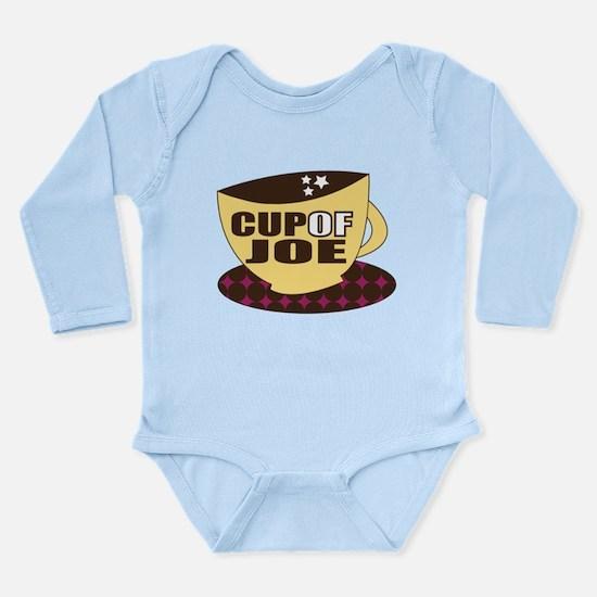 Cup Of Joe Long Sleeve Infant Bodysuit