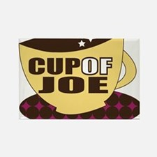 Cup Of Joe Rectangle Magnet