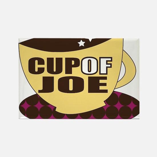 Cup Of Joe Rectangle Magnet