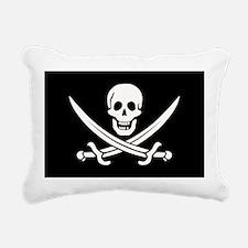 Calico Jack Pirate Rectangular Canvas Pillow