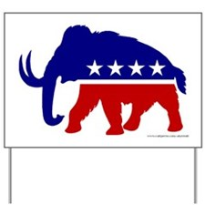 TEA Party Mammoth, Yard Sign