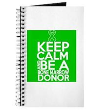 Keep Calm Bone Marrow Donor Journal