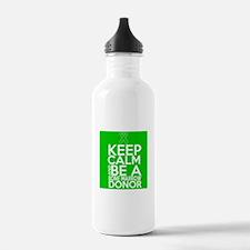 Keep Calm Bone Marrow Donor Water Bottle