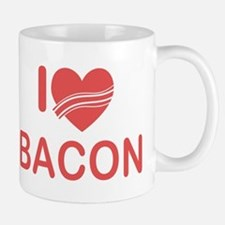 I Heart Bacon Mug