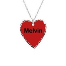 Melvin Red Heart Necklace Charm