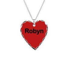 Robyn Red Heart Necklace Charm