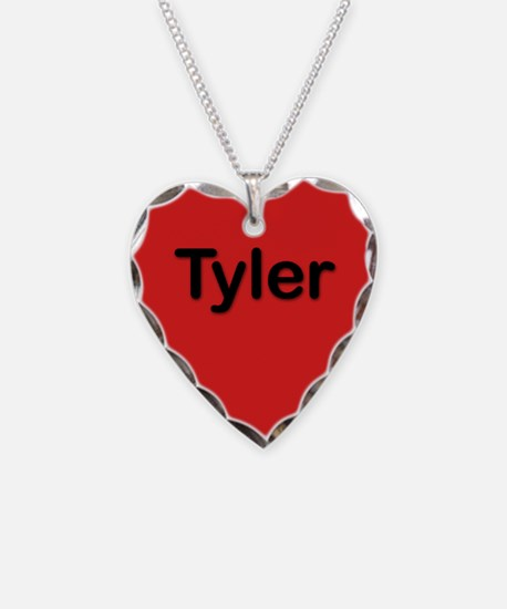 Tyler Red Heart Necklace Charm