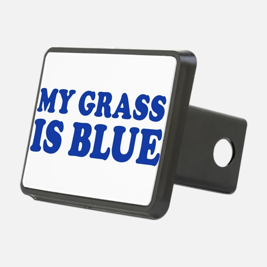 MY GRASS IS BLUE Hitch Cover