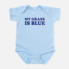 MY GRASS IS BLUE Infant Bodysuit