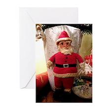 Santa Knit - Greeting Cards (Pk of 10)