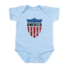 America Infant Bodysuit
