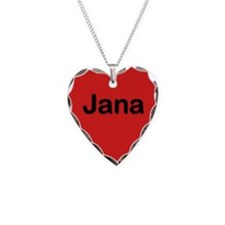 Jana Red Heart Necklace Charm