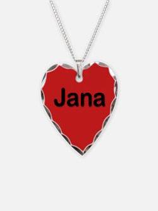 Jana Red Heart Necklace Charm