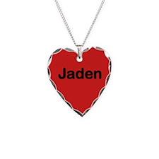Jaden Red Heart Necklace Charm