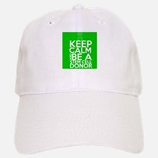 Keep Calm Stem Cell Donor Baseball Baseball Cap