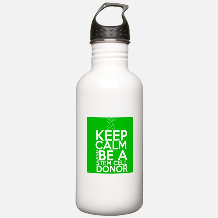 Keep Calm Stem Cell Donor Water Bottle