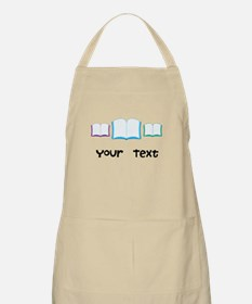 Personalized Books Reading Apron