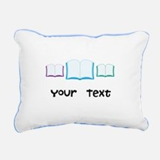 Personalized Books Reading Rectangular Canvas Pill