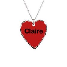 Claire Red Heart Necklace Charm