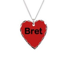Bret Red Heart Necklace Charm