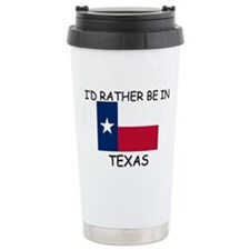 Cute Texas Travel Mug