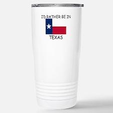 Funny Texas Travel Mug