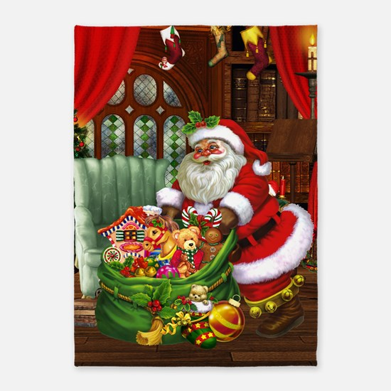 Santa Claus! 5'x7'Area Rug