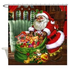 Santa Claus! Shower Curtain