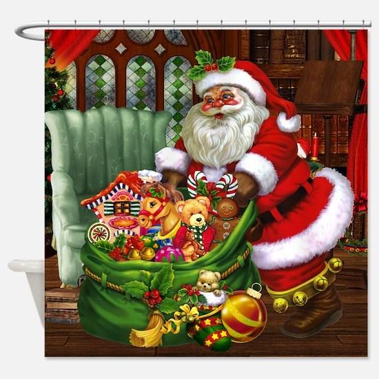 Santa Claus! Shower Curtain