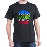 Medical marijuana Mens Classic Dark T-Shirts