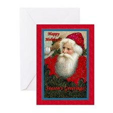 Santa - Greeting Cards (Pk of 10)