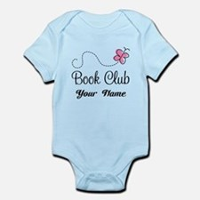 Personalized Book Club Cute Infant Bodysuit