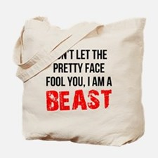 I AM A BEAST Tote Bag