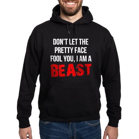 I AM A BEAST Hoodie (dark)